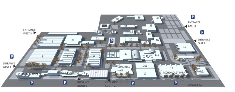 Floor Plan Zagrebacki Velesajam